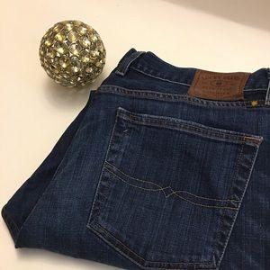 Men's lucky brand 360 vintage straight jeans